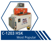 C-1203 HSK | Modular coping machine and end matching