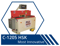 C-1205 HSK | Modular coping machine and end matching